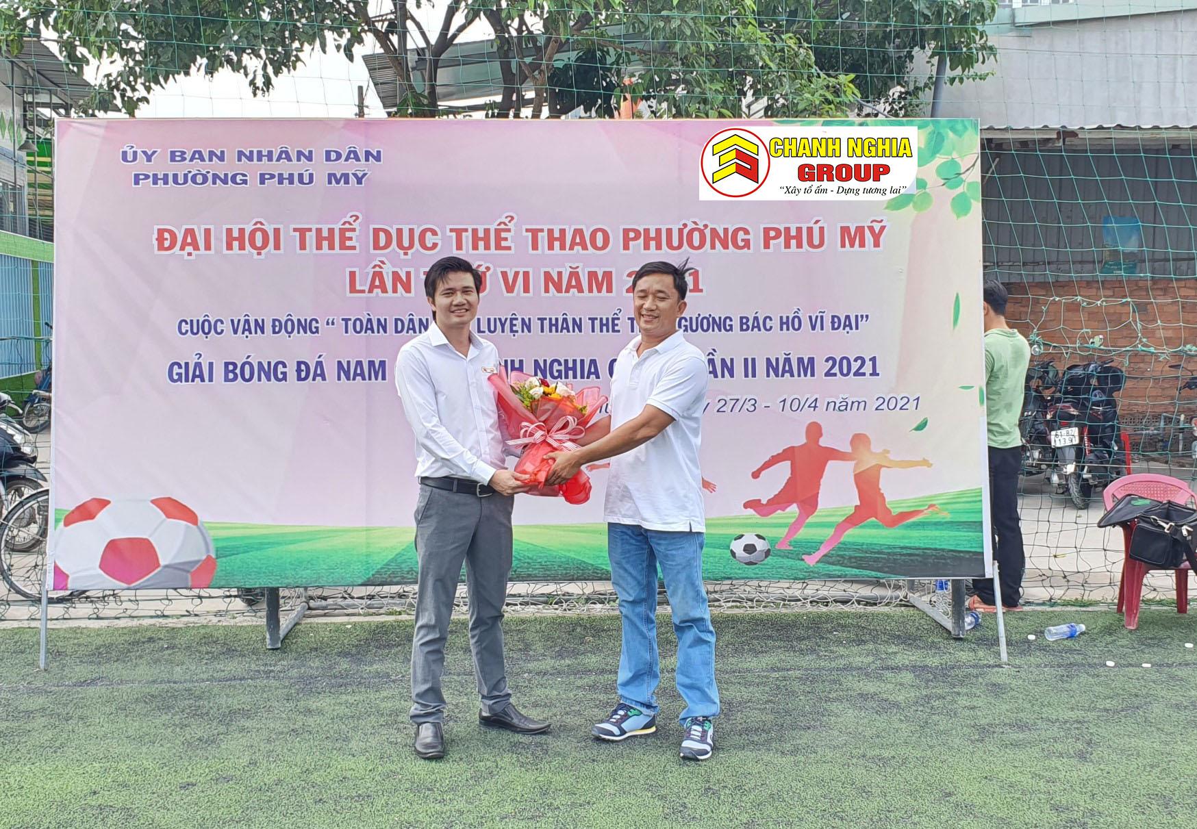 Lễ bế mạc giải bóng đá Nam cúp Chánh Nghĩa Group lần II, năm 2021